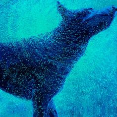 Buy Original Art by Iris Scott | oil painting | Only the Blues at UGallery