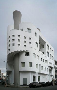 MA casablanca gebouw 02 by Klaas Vermaas