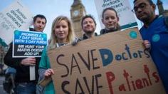 Senior doctors react to planned series of five-day strikes