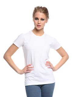 17150PWA Unisex 50/50 Blend Performance Tee - Short Sleeves - Women made in usa