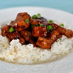 Bourbon Chicken - Better than the Bourbon Chicken you remember from the mall food court, sorry no bourbon used in making.