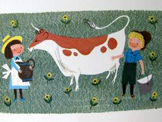 cow illustrated by Alice and Martin Provensen, 1951