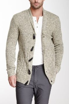 Civil Society Wool Blend Sweater Cardigan