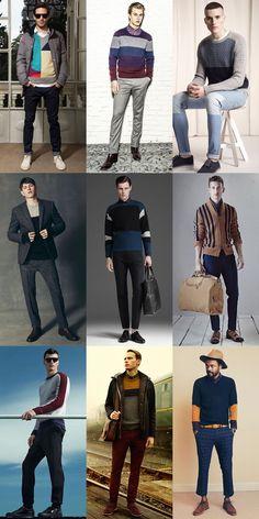 Men's Graphic Knitwear Lookbook AW13