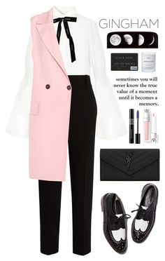 """""""Pink"""" by kamarkhalili ❤ liked on Polyvore featuring The Row, Chanel, Marni, Yves Saint Laurent, Christian Dior, xO Design and Byredo"""