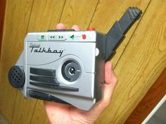 Talkboy. You and your dad had a good time with this toy
