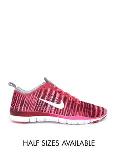 save off a6bdb 56052 Nike Free 5.0 Tr Fit 4 Prt Red Print Trainers Fit 4, Gym Wear,
