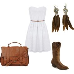 CowGirl, created by bombaloo on Polyvore