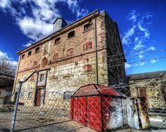Old Flour Mill Photograph by Wayne Sherriff