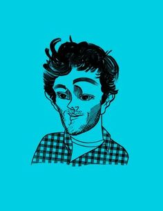 """The actor considers the """"Adam Brody type"""": """"I think it's been around long before me."""" A walk with Brody along the Brooklyn waterfront, in this week's issue. (Illustration by Tom Bachtell)"""