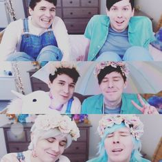 Dan and Phil PASTEL EDITS IN REAL LIFE!❄️