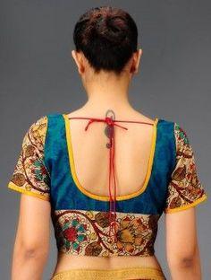 kalamkari blouse - Google Search...