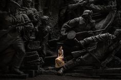 Anna in Kyiv, Ukraine. © Niels Ackermann / Rezo.ch - june 2014