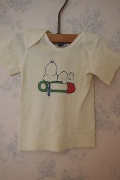 Vintage baby Snoopy TShirt by LittleFits on Etsy, $10.00
