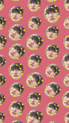 """Hangyul, Yohan, Chajun and Minhee wallpapers for yall 💓🦋"" Emoji Wallpaper Iphone, Aesthetic Iphone Wallpaper, Aesthetic Wallpapers, Tumblr Wallpaper, Screen Wallpaper, Wallpaper Quotes, Fake Images, Aesthetic Lockscreens, Cute Korean Boys"