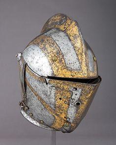 Close Helmet for the Tilt   German, Augsburg   The Met
