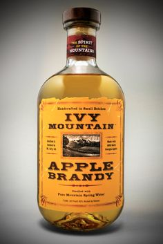 Ivy Mountain Apple Brandy from Ivy Mountain Distillery in Mt. Airy, #Georgia.