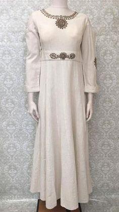 a849ef953ee Long Linen Cold Shoulder Gown Maxi Dress - Sarang Cold Shoulder Gown