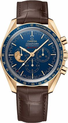 31163423003001 Omega Speedmaster Moonwatch Anniversary Men's Watch - Limited Edition, Blue Dial - Best Price Online - Brand New - Guaranteed Authentic Dream Watches, Sport Watches, Cool Watches, Men's Watches, Omega Speedmaster Moonwatch, Fossil, Omega Planet Ocean, Watch Master, Moon Watch