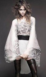 Sasha Pivovarova by Greg Kadel for Numéro, #116, September 2010