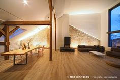 Toll Innenausbau DG Loft / Interior Design Project Residential Loft Umfang /  Scope : Ca. 250 Qm / 2750 SQF Ort / Location : Berlin Kreuzbe.