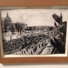 Beautifull drawing at biennale