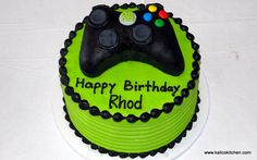 Birthday Cakes- Boys, Microsoft Xbox- 1