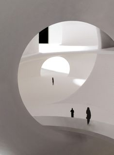 Steven Holl Granted Approval for Taiwan ChinPaoSan Necropolis,Oceanic Pavilion, entry and public space. Image © Steven Holl Architects
