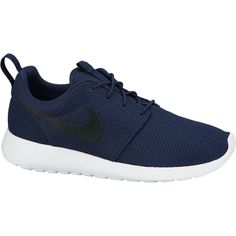 Nike Roshe Run in dark blue takes the meaning of simplistic comfort to a new level. Made with distinctive design, lightweight and very breathable materials which make it durable and comfortable. Nike Roshe Run taken from the name ''Roshi'' is the title often given to Zen master.
