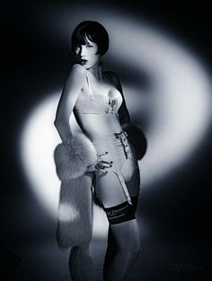 Chantal Thomass creation photographed by Studio Harcourt Paris