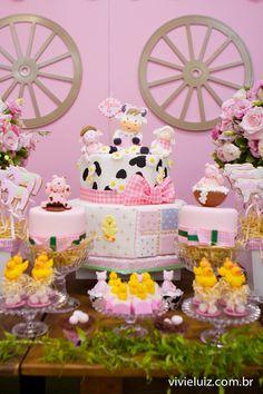 decoração festa fazendinha para menina