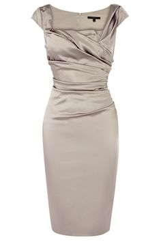 New colour theme idea… silver and pearls! 🙂 Silver satin bridesmaids dress fr… New colour theme idea… silver and pearls! 🙂 Silver satin bridesmaids dress from Coast Mob Dresses, Dressy Dresses, Short Dresses, Bride Dresses, Mother Of Groom Dresses, Mothers Dresses, Satin Bridesmaid Dresses, Satin Dresses, After Five Dresses
