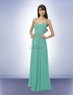 Neat waistline, cool blue/green    Bridesmaid Dress Style 769, Glacier