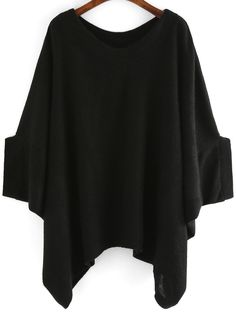 How To Rock A Batwing loose sweater. This Fall And Look Amazing - SHEIN.