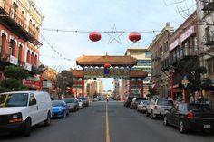 Victoria BC's Chinatown Photos
