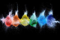rainbow water balloons