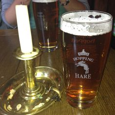 Real beer in real country English