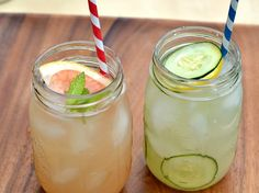 wanna try some gin? heres some pretty warm weather cocktails?