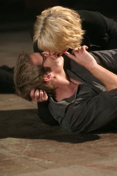 I think this works.  Photo of Amanda Tapping and Michael Shanks.