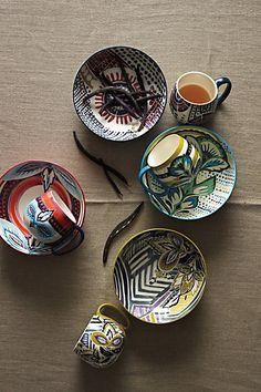 Orchid Pavilion Mug - anthropologie.com