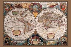 17th Century World Map - Gold Ink - Maxi Poster - 61 cm x 91.5 cm, http://www.amazon.co.uk/dp/B001UT41Q4/ref=cm_sw_r_pi_awdl_G5divb1A4HKYT