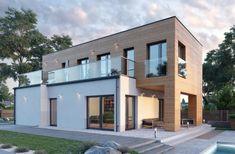 #budowadomu #taniwbudowie #dom #projektdomu #projektygotowe Style At Home, Bachelor Pad Decor, House Rooms, Home Fashion, Modern Architecture, Ideas Para, 1, Exterior, House Design