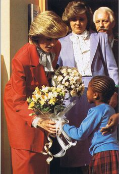 October 27, 1983:  Princess Diana was there to officially open the West Indian Parents Family centre where the nursery was located, and received a happy welcome from the room of youngsters who sang and danced for her.