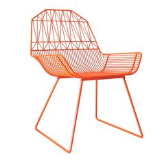 Farmhouse Chair Orange