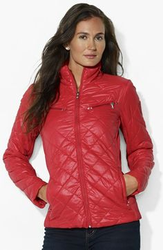 867b110cc658 Lauren Ralph Lauren Quilted Scuba Jacket