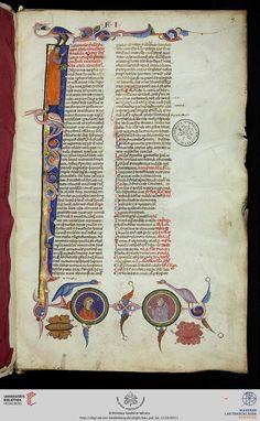 Vatikan, Biblioteca Apostolica Vaticana, Pal. lat. 1114 Avicenna Canon I, III — Italien, 1. Hälfte 14. Jh.