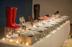 A shoe lovers dream proposal!