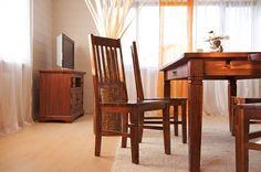 Esstisch 150x90 Capri Pinie braun massiv Holz Moebel ...