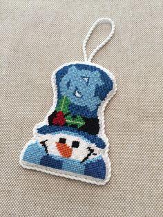 NC Snowman Ornament