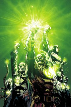 GREEN LANTERN CORPS ANNUAL #2 - Written by VAN JENSEN and ROBERT VENDITTI / Art by NEAL EDWARDS and SCOTT HANNA / Cover by ED BENES | Comic Book Resources